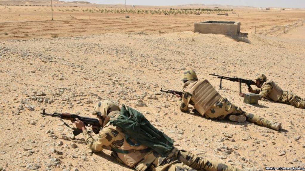 Egjipt: Sulm ndaj ushtrisë në Gadishullin Sinai