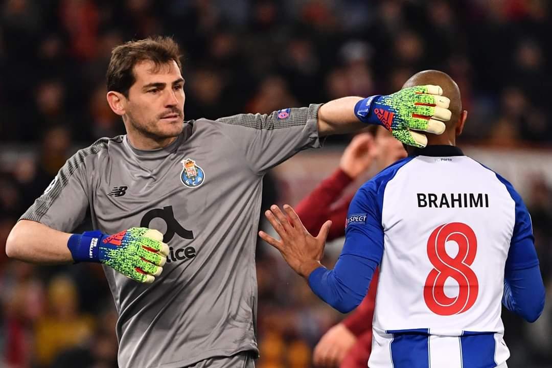 Shėnohen dy gola tė shpejtė nė ndeshjen, Roma-Porto