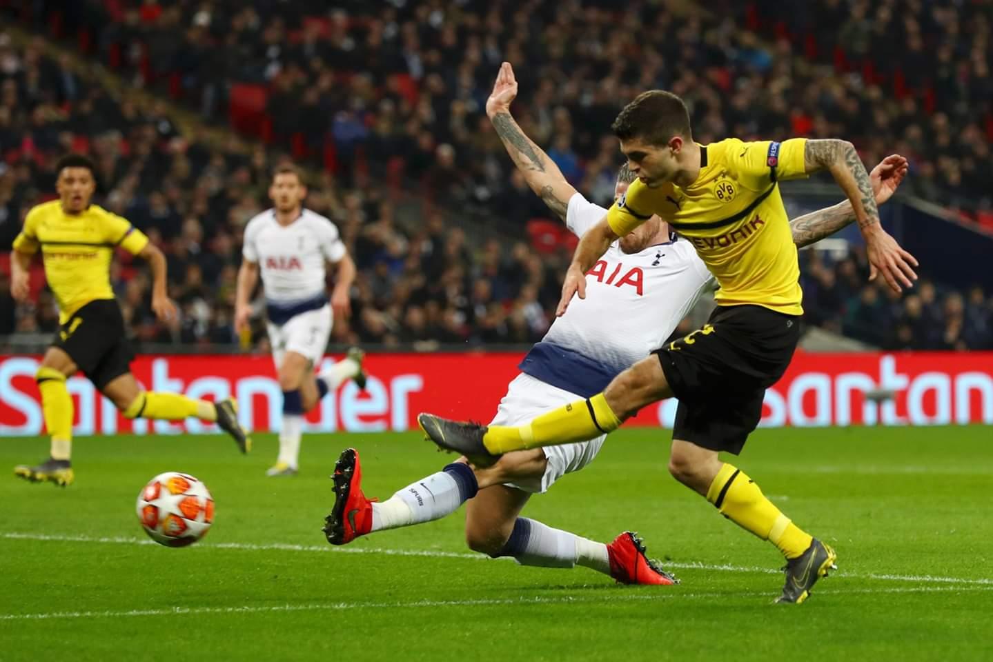 Shėnohet goli i parė nė ndeshjen, Tottenham-Dortmund