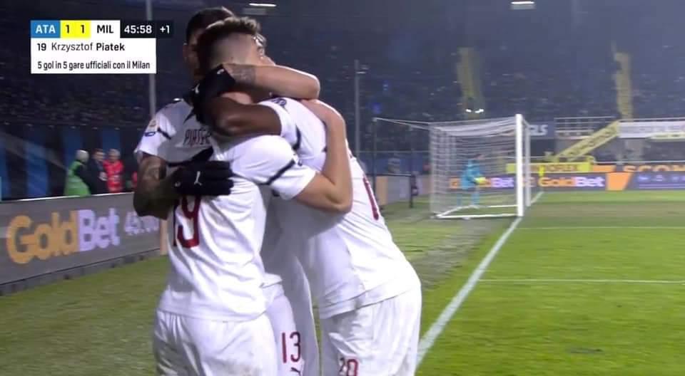 Dy gola të shpejtë në takimin, Atalanta – Milan