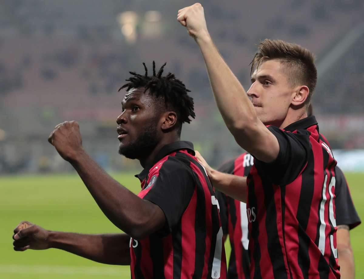 Formacioni i mundshëm i Milanit kundër Lazios