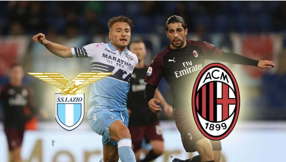 Lazio – Milan, formacionet zyrtare