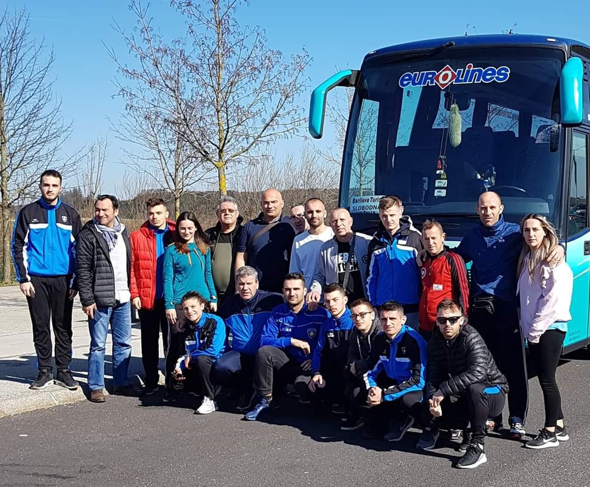 Përfaqësuesja e Kosovës në Karate ka udhëtuar në Salzburg