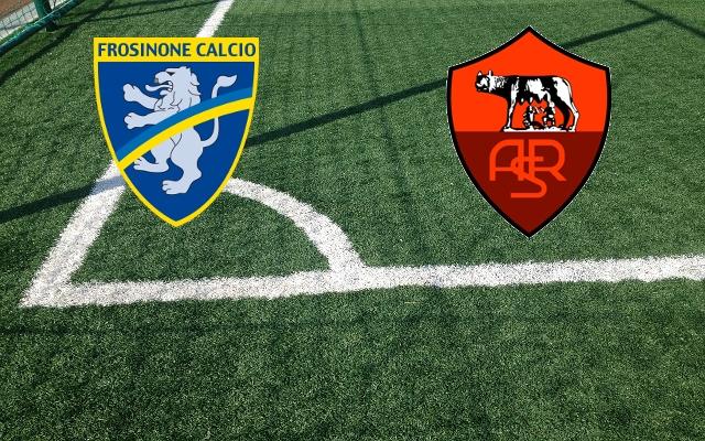 Frosinone – Roma, formacionet zyrtare