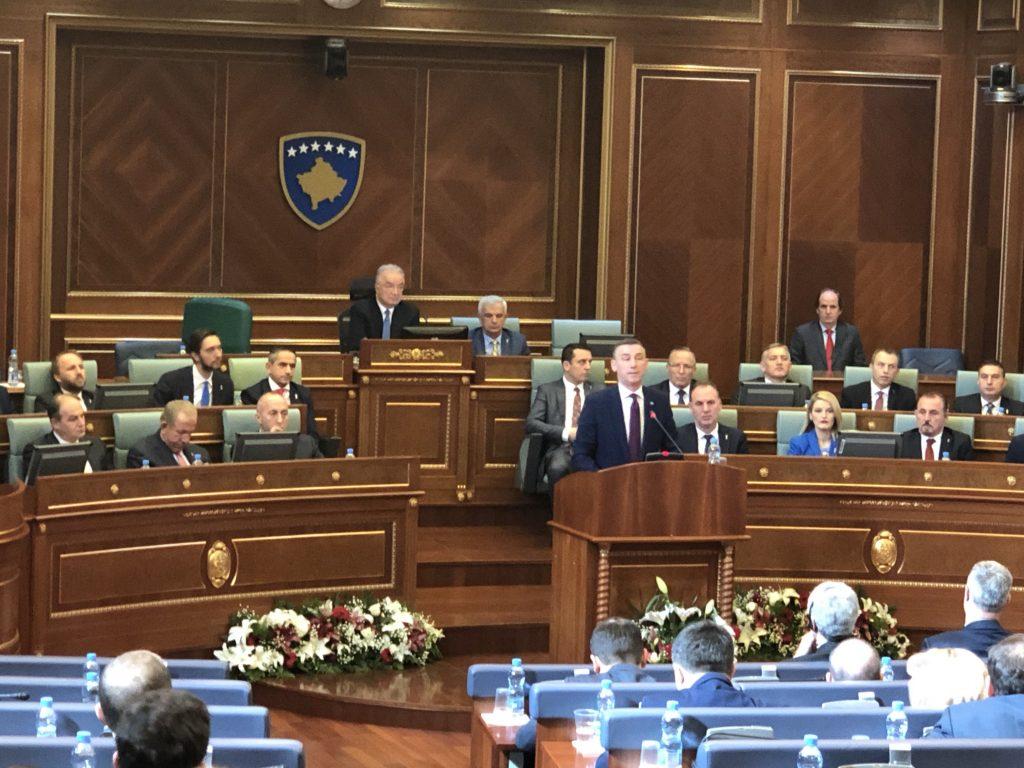 Veseli: Me SHBA-të dhe BE-në në krah, Kosova është më mirë dhe më e sigurtë, Qeveria e Kosovës nuk do të bjerë për shkak të taksës