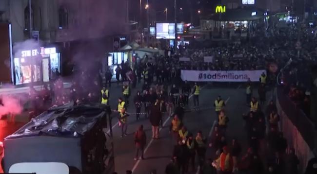 Vazhdojnë protestat kundër Vuçiqit në Beograd