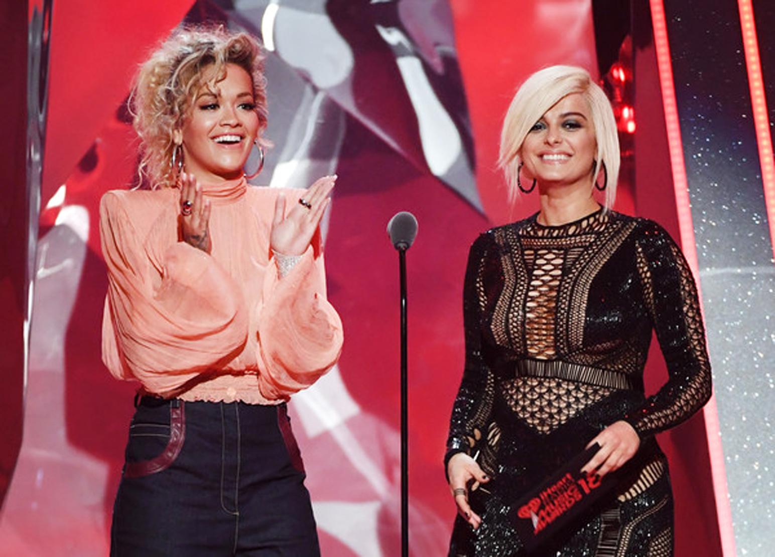 Rita Ora dhe Bebe Rexha shihen bashkë, por cila artiste tjetër po mungon