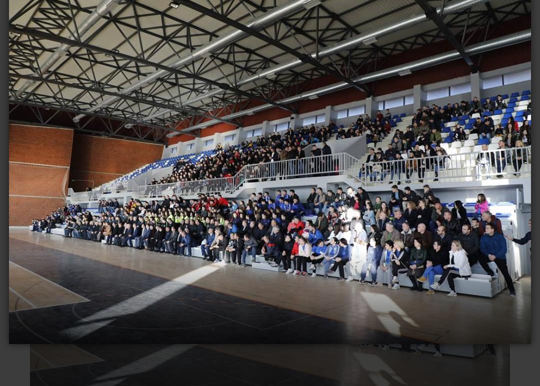 Kjo komunë bëhet me Palestër Sportive në 11 vjetorin e Pavarësisë së Kosovës