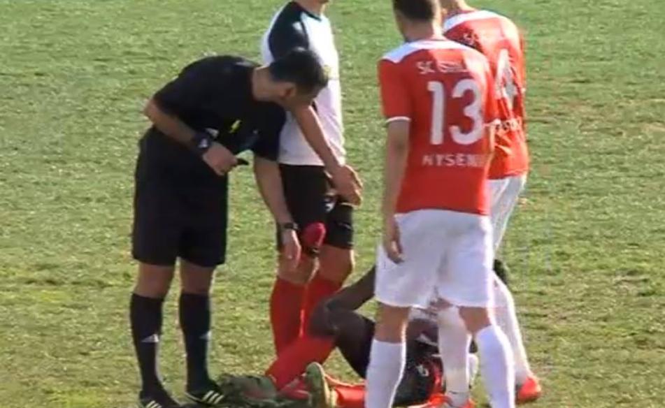 Futbollisti i Flamurtarit konfrontohet me tifozët e Gjilanit