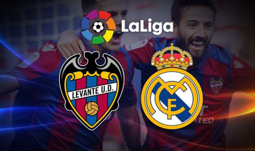 Levante – Real Madrid, formacionet zyrtare