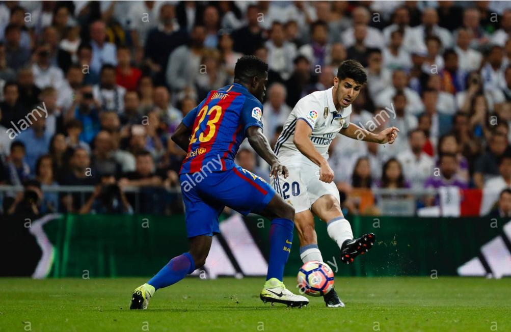 VIDEO – Këtë gol të çmendur e kishte shënuar Asensio ndaj Barcës vitin e kaluar