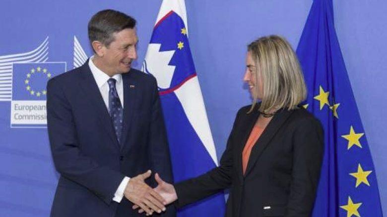 Pahor dhe Mogherini flasin për marrëveshjen Kosovë-Serbi
