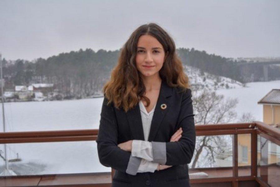 Kjo shqiptare përfaqëson rininë suedeze në Kombet e Bashkuara