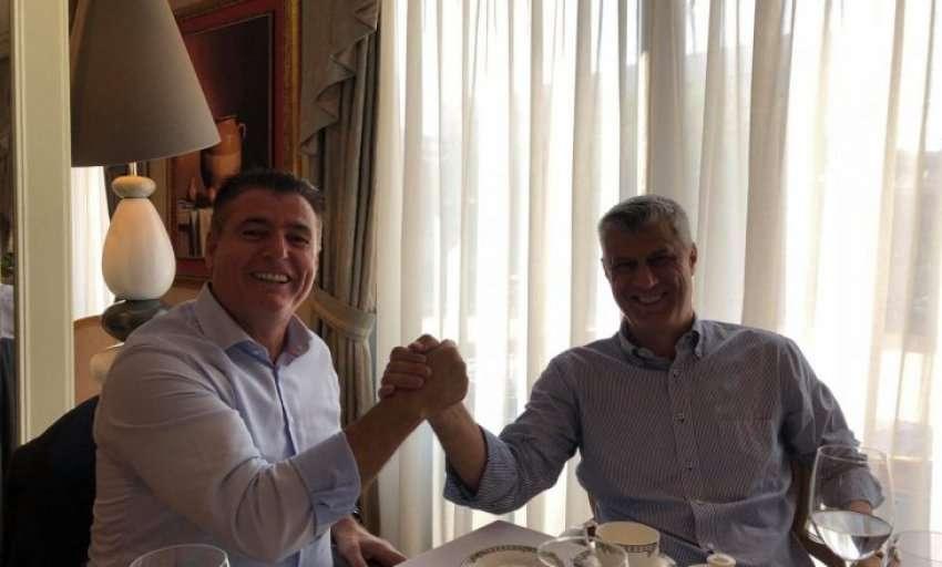 Agim Bahtiri i shkon në zyre presidentit Hashim Thaçi, kjo është arsyeja