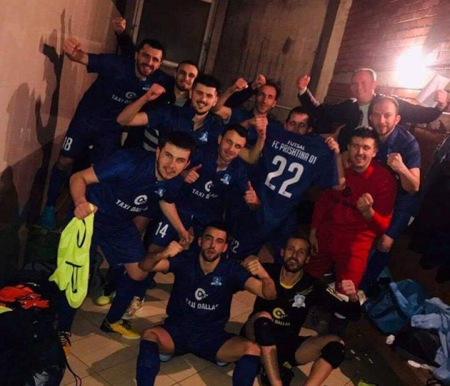 """""""Prishtina 01"""" në futsall arrin në finale të Kupës së Kosovës"""