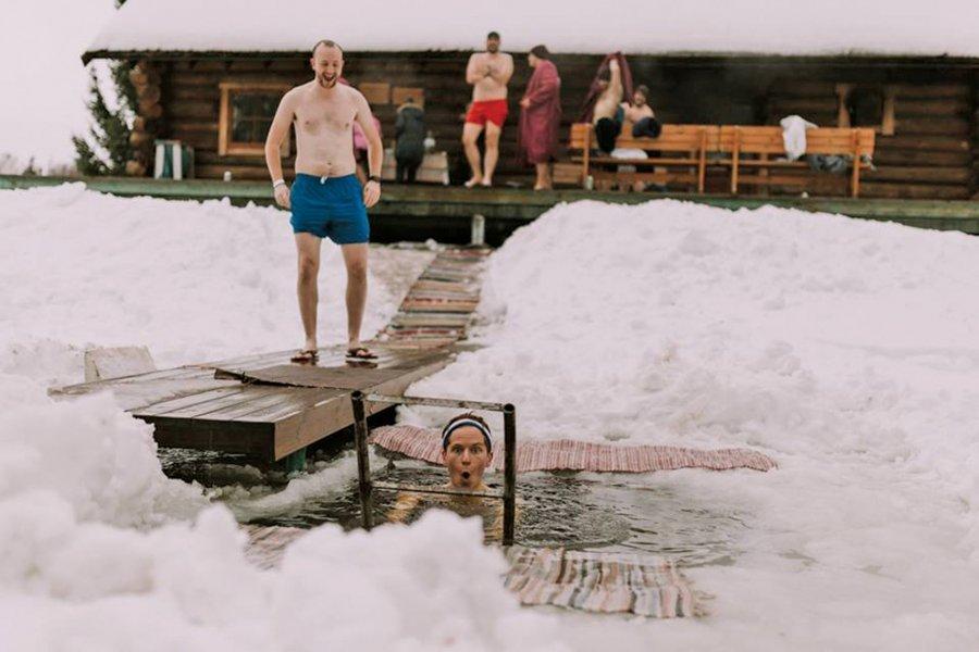 Maratona e saunave në Estoni mbledh garues nga mbarë bota
