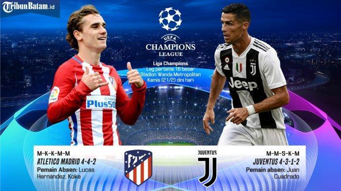 Statistikat e përballjes, Atl.Madrid – Juventus