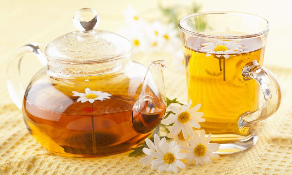 Shëro ftohjet me çaj kamomile