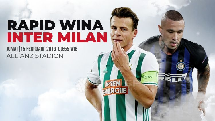 Rapid – Inter, formacionet zyrtare