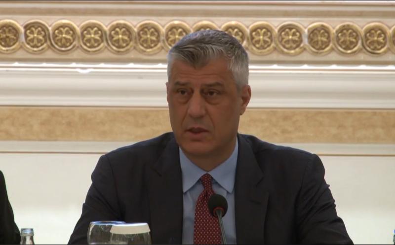 Thaçi: Duhet ta qartësojmë pozitën tonë si shtet, dialogu jo i lehtë