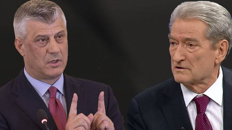Presidenti Thaçi 'thumbon' Sali Berishën, ja çka i thotë