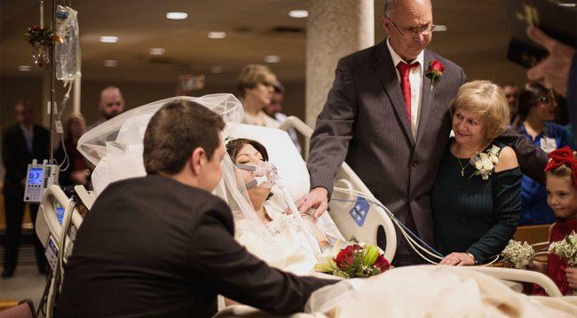 Kjo grua vendosi të martohej 18 orë para se të ndërronte jetë