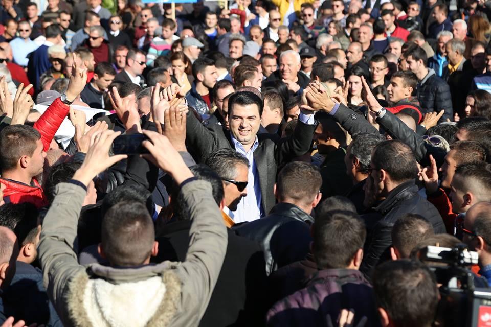 Lulzim Basha thotë se protesta do t'ia arrijë qëllimit