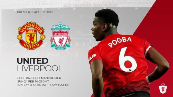 Man Utd – Liverpool, formacionet zyrtare