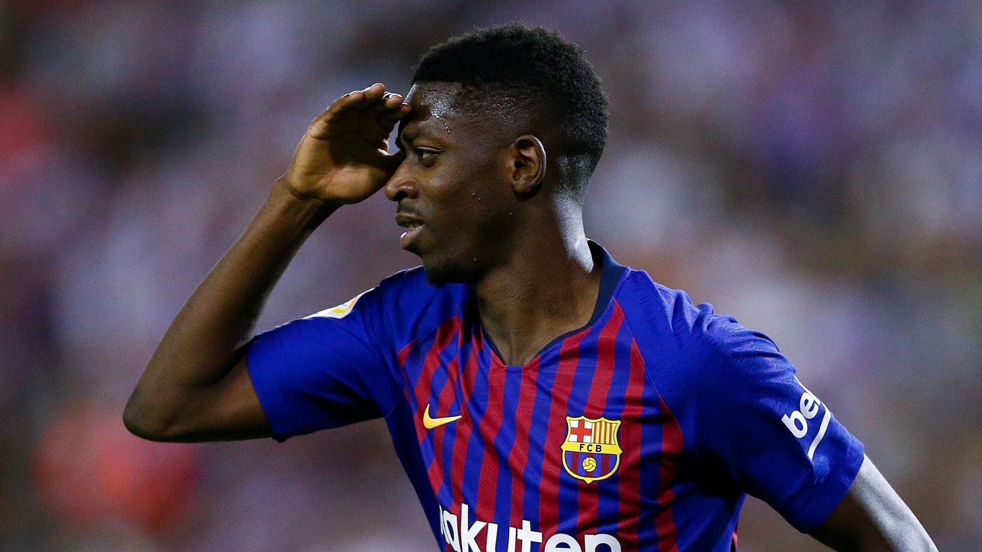 A do të luajë Dembele në ndeshjen e radhës kundër Valencias?