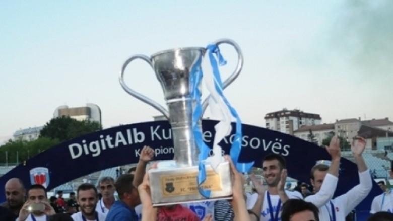 Skuadrat gjysmëfinaliste të Kupës së Kosovës