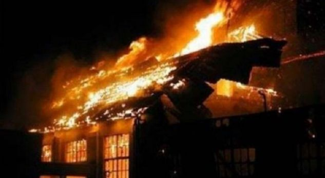 Zjarr i madh në Istog