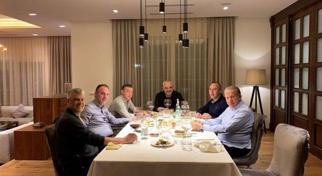Thaçi jep detaje për darkën me Ramën dhe krerët shtetëror