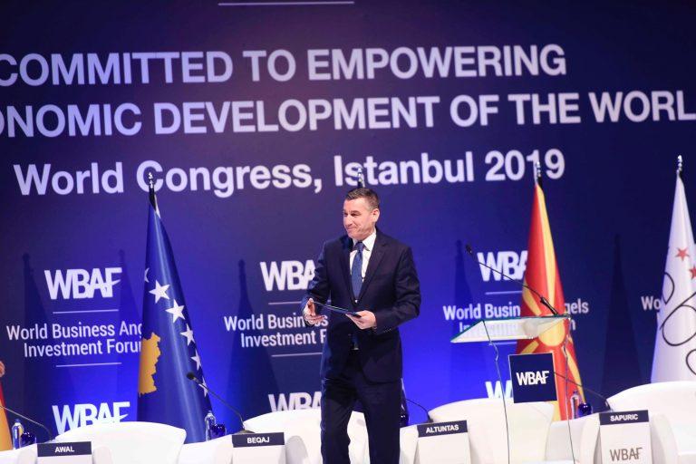 Veseli në Forumin e Investitorëve Global paraqet potencialet që i ofron Kosova