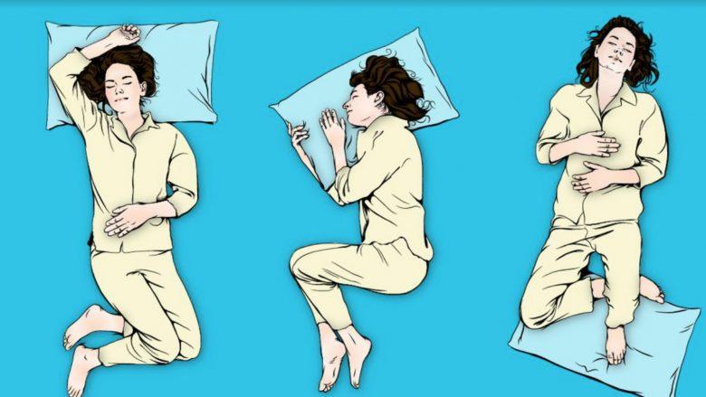 Këto janë pozicionet për një gjumë të mirë