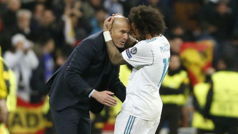 Kthimi i Zinedine Zidane, Marcelo vazhdon karrierën në Real Madrid