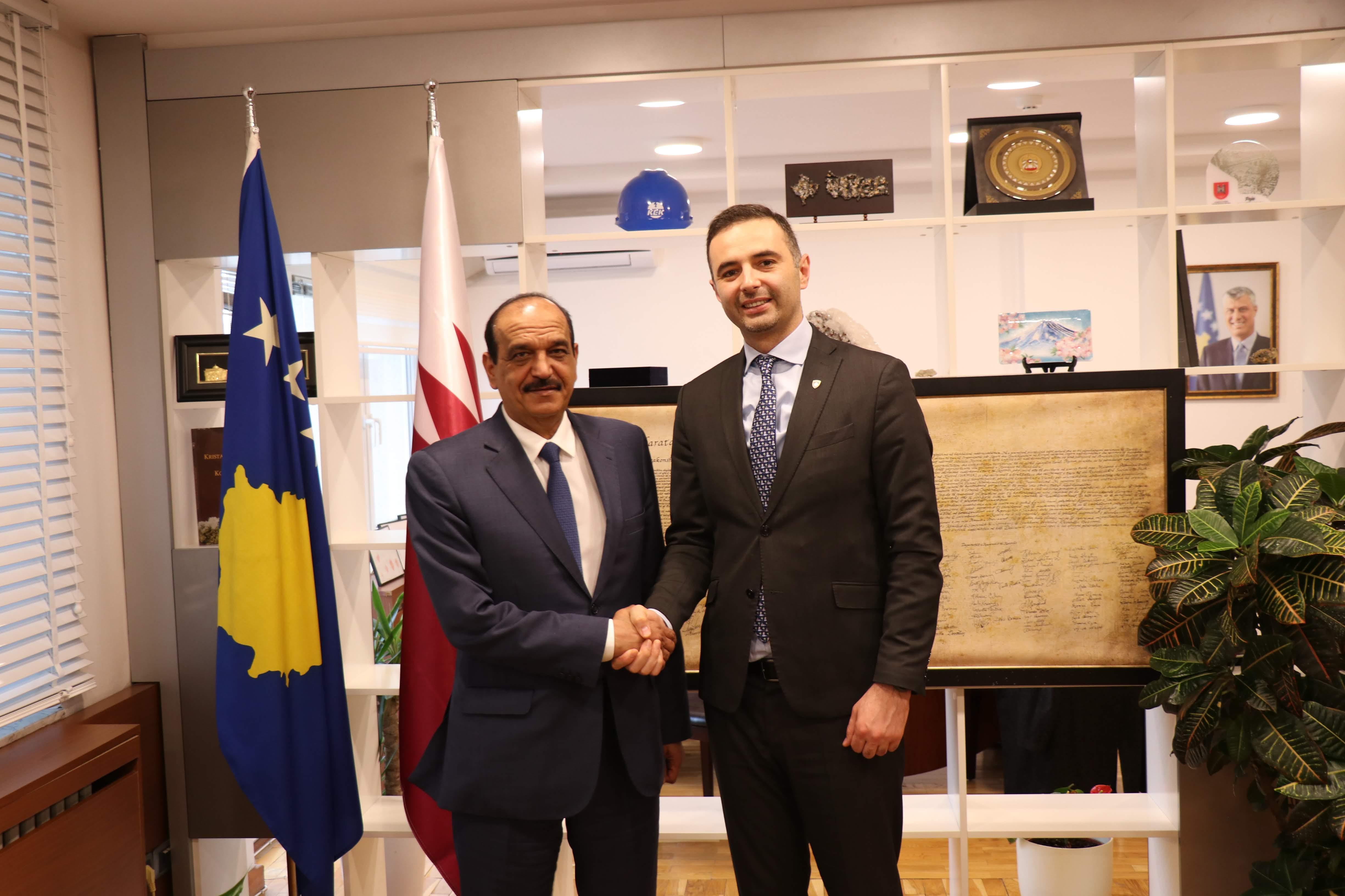 Ministri Lluka fton bizneset nga Katari të investojnë në Kosovë