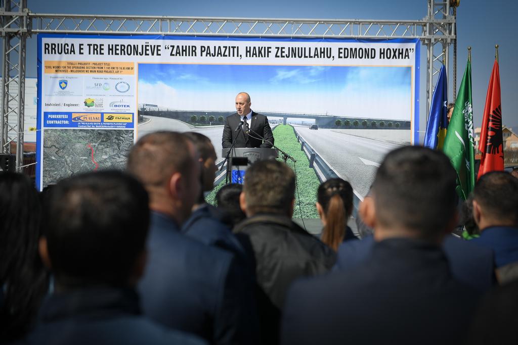 Haradinaj: Do të ndërtojmë rrugë e ura sepse ajo është detyra jonë