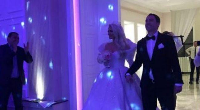 Gresa Behluli duket si princeshë në dasmën e saj