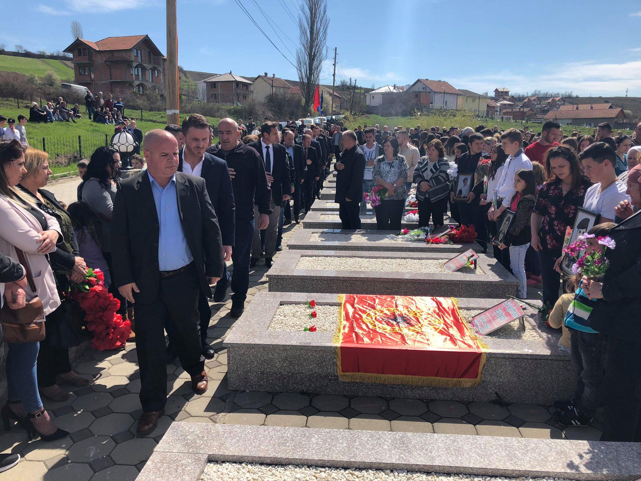 Përkujtohen 31 të rënët në Opterushë të Rahovecit