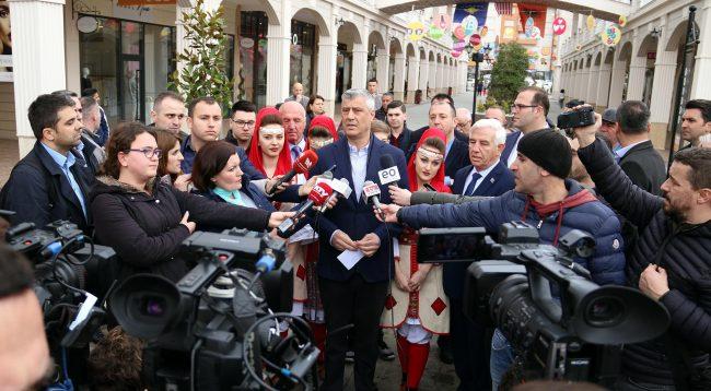 Thaçi nga Prizreni: Duhet ta dëgjojmë Amerikën, çdo kryeneçësi tjetër është ana e gabuar e historisë