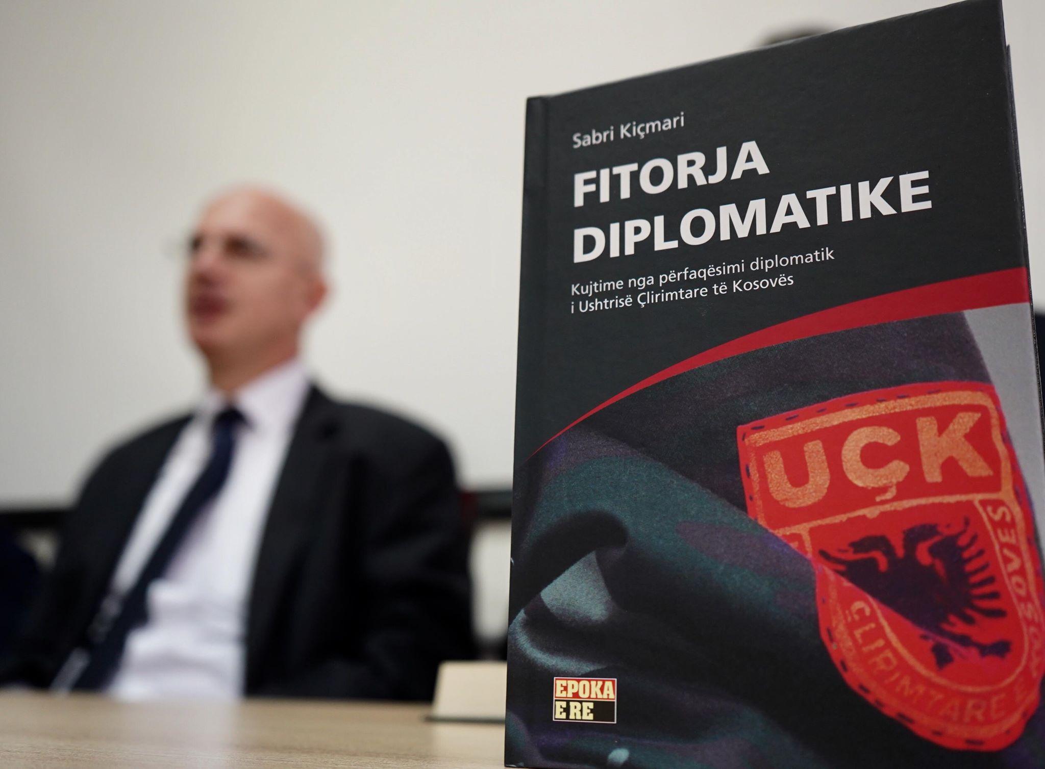 Sabri Kiçmari publikon librin për diplomacinë e UÇK-së