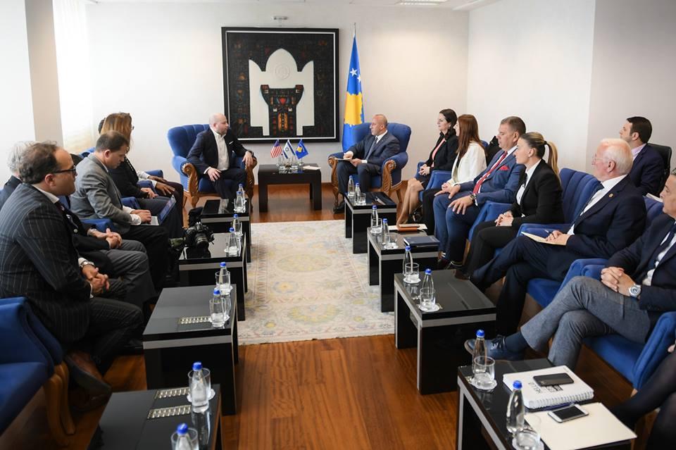 Haradinaj: Qeveria e Kosovës thellësisht e interesuar për tërheqjen e investimeve amerikane