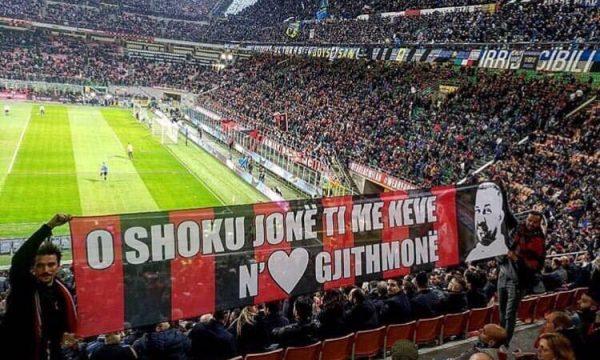 Arian Daci ishte tifoz i Milanit, shokët e kujtojnë me parullë gjatë ndeshjes me Interin