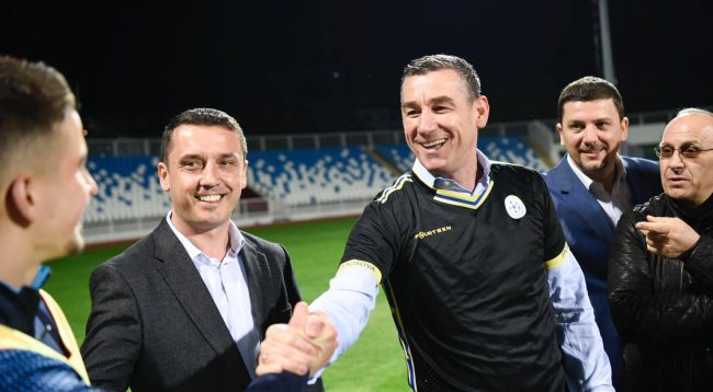 Veseli premton 1 milion euro premi për kualifikim në Evropian, si dhe stadiumin kombetar