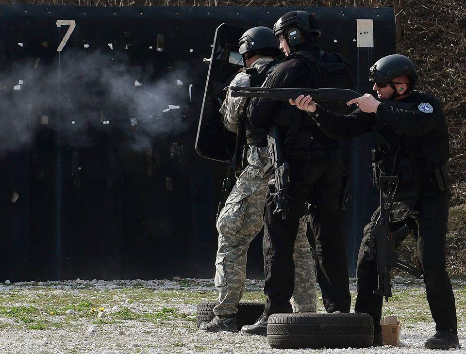 Pamje të jashtëzakonshme nga trajnimi i Policisë së Kosovës, Shqipërisë e Maqedonisë Veriore