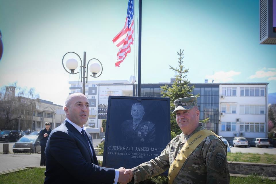 Haradinaj për gjeneralin Boyd: Te shqiptari miku përherë do ta ketë vendin e nderit