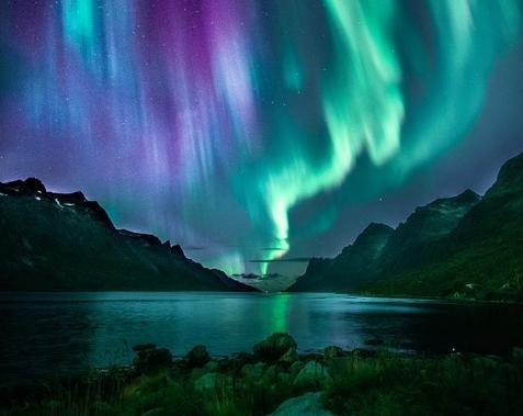 Disa pamje të mrekullueshme të Aurorave