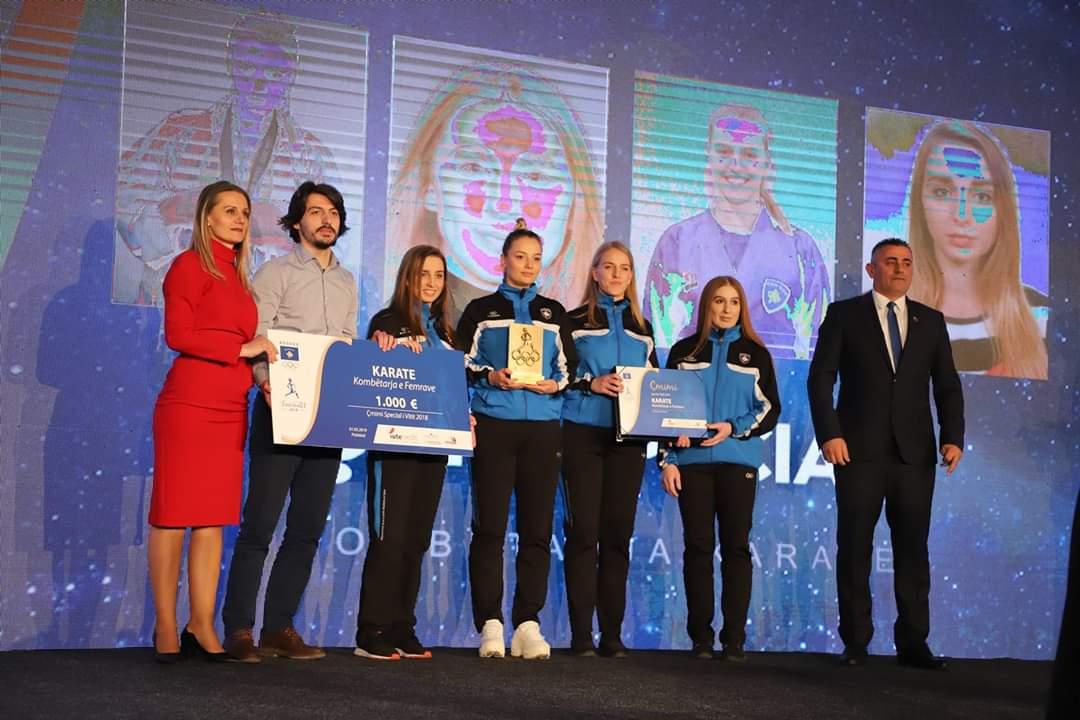 Kombëtarja e karatesë, fiton çmimin special 2018