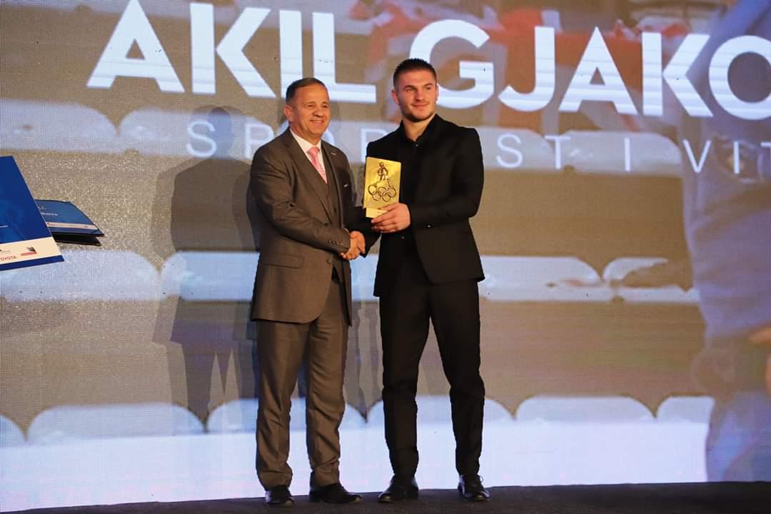 Akil Gjakova, Sportist i Vitit 2018