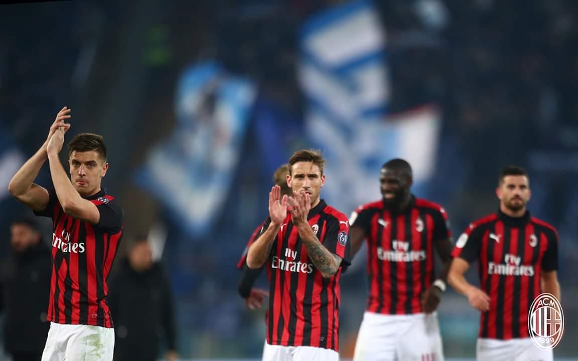 Pesë përballjet e fundit, Milan – Sassoulo